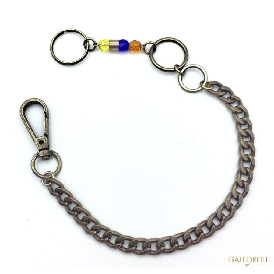 Chain with Carabiner - 2834 Gafforelli Srl trousers