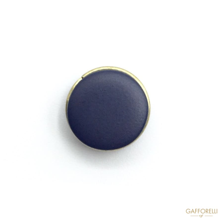 Matt Buttons with Golden Decoration on Borders - Art. 7299