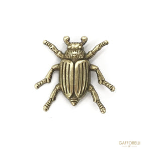 Metal Insect Shaped Brooch - Art. E169 brooches