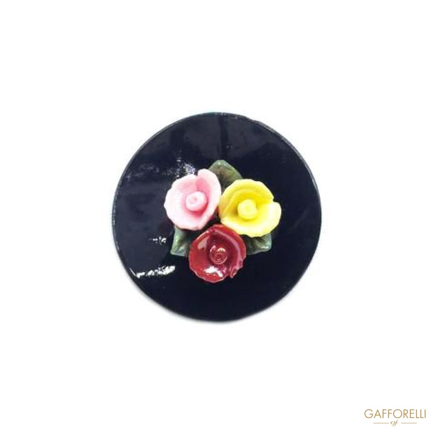 Mother of Pearl Brooches with Flowers - 2839 Gafforelli Srl