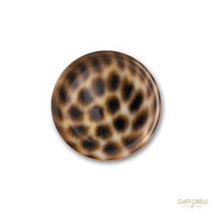 Polyester Buttons with Spotted Effect Round Shape - Art.