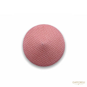 Pyramid Button Covered in Fabric H296 - Gafforelli Srl