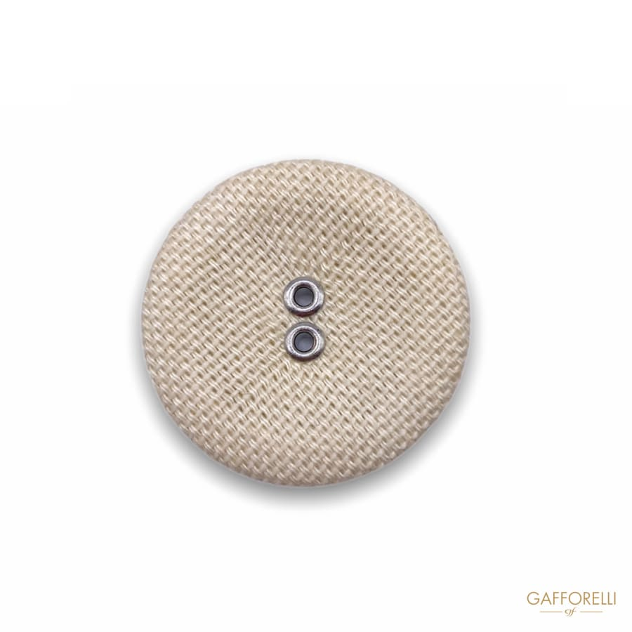 Round Button with Two Holes 1357 - Gafforelli Srl CLASSIC •