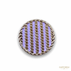Sailor Style Metal Button B167 - Gafforelli Srl LIGHT •