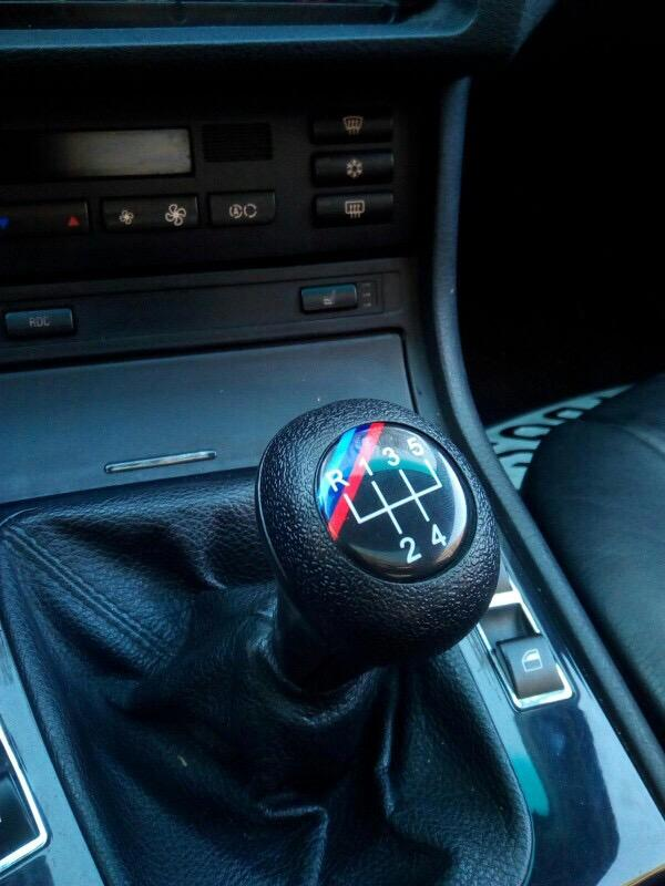 Shift Knobs With M Stripe - ShopE30