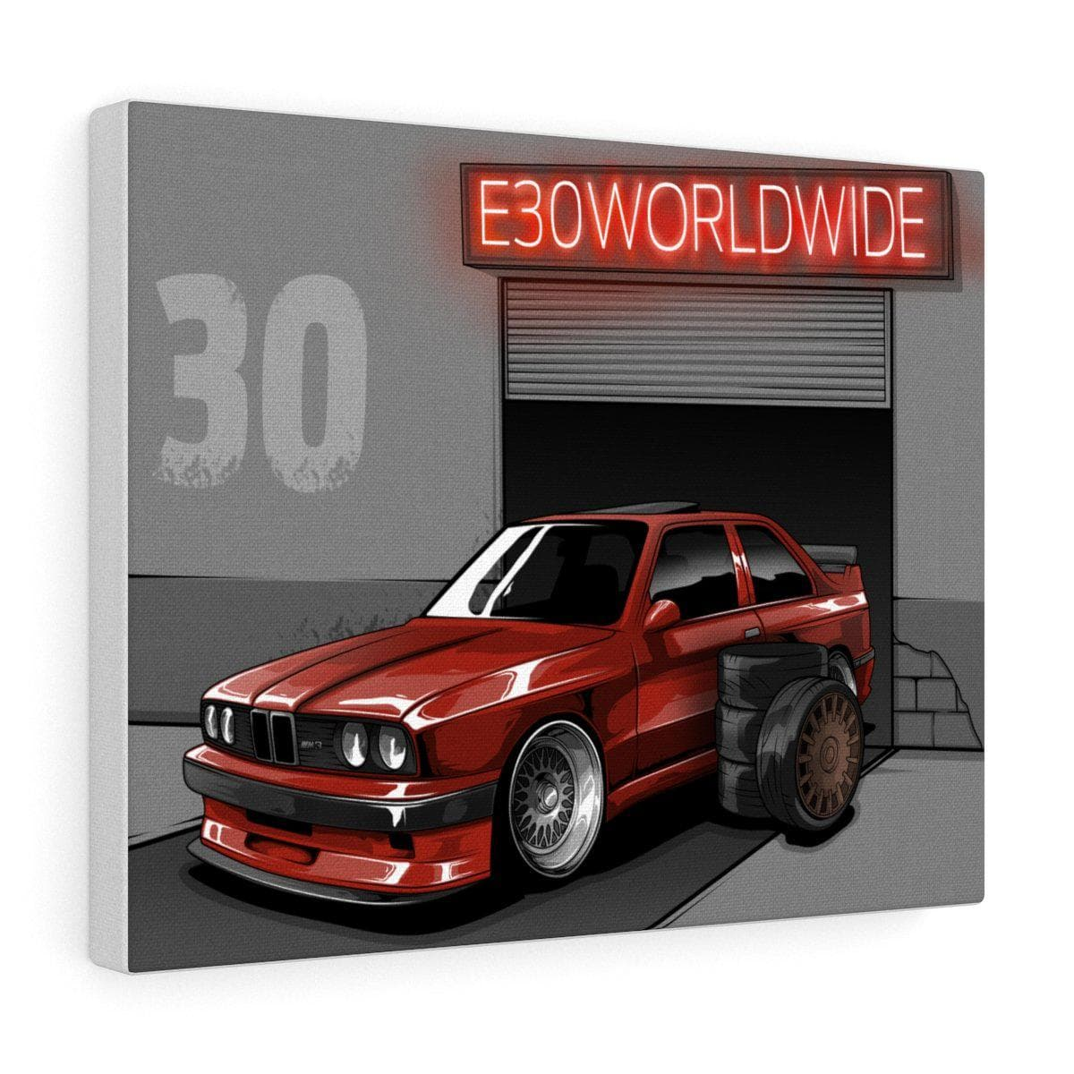 E30worldwide Canvas - ShopE30