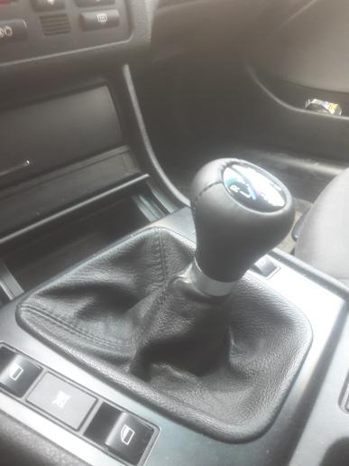Leather Mpower Shift Knob - ShopE30