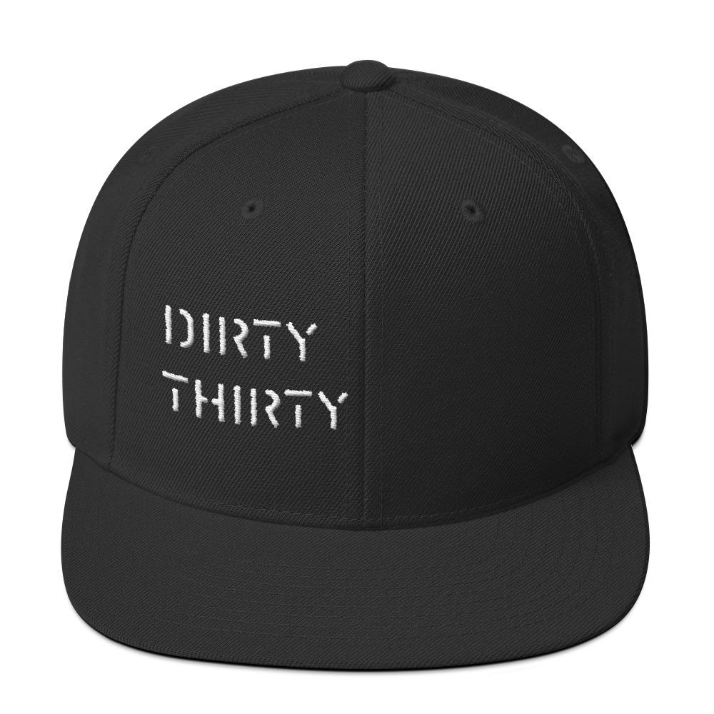 Dirty Thirty Snap Back - ShopE30