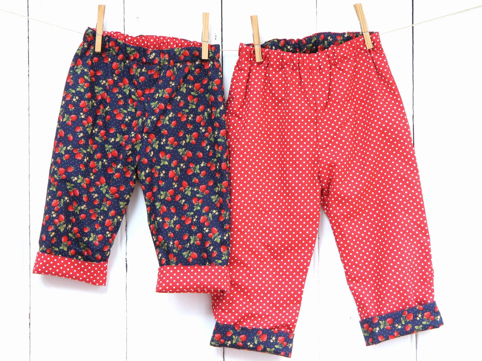 Strawberry Spot Trousers