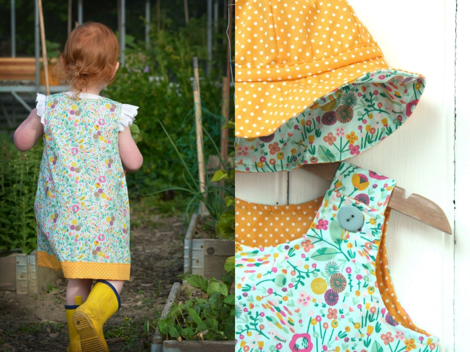Yellow Summer Meadow Dress