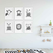 nursery and kids bedroom art prints by Hayley Lauren Design