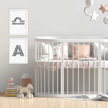 Libra star sign for nursery or kids bedroom by Hayley Lauren Design