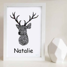 Antler Art Print | Nursery or Kids Bedroom decor