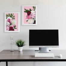 brighten up your office space with floral art prints free shipping Australia wide