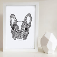 Freddie the Frenchie Art Print