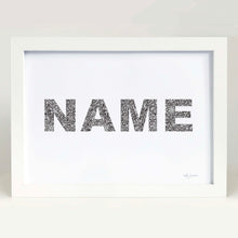 custom name for baby nursery by Hayley Lauren Design