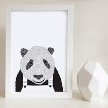 Pat the Panda Nursery or Kids Bedroom Art Print
