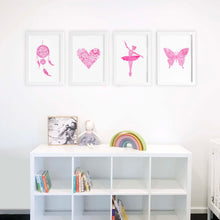 Think Pink Collection Wall Art Prints