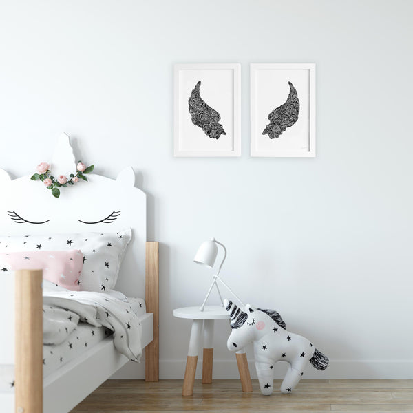 wings for kids or nursery bedroom