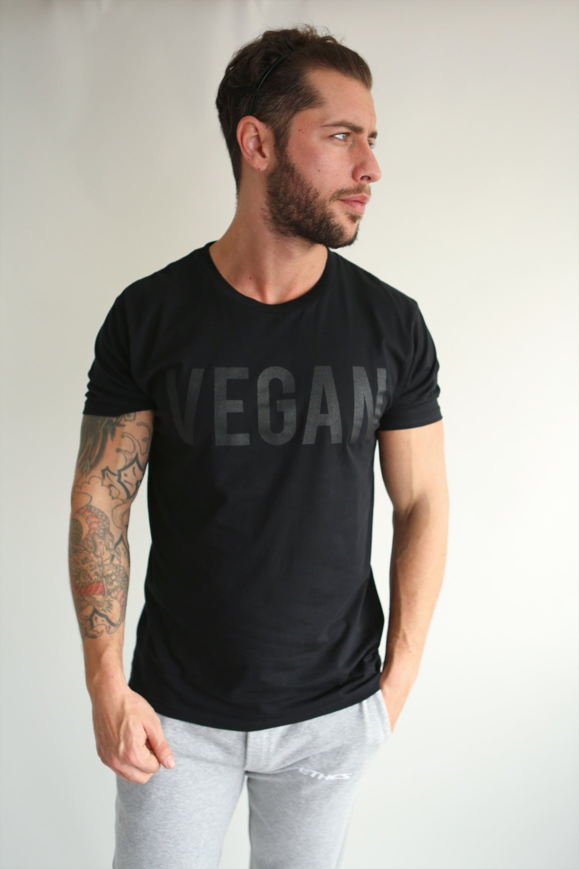 Tee - Ethics and Antics vegan nagev vgang clothing