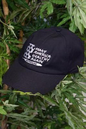 MAKE AMERICA HEALTHY AGAIN ORGANIC COTTON CAP