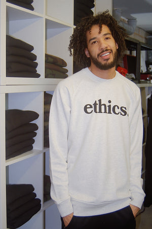 Sweatshirt - Ethics and Antics vegan nagev vgang clothing