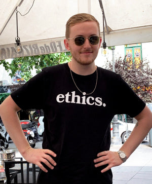 ethics. BLACK TEE - ETHCS