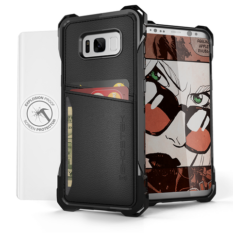 Galaxy S8+ PLUS | Wallet Leather Case | Ghostek EXEC Model, Galaxy S8 PLUS Cases, GHOSTEK  - CaseTastic Case Covers
