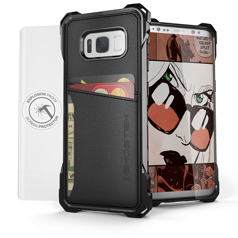 Galaxy S8 Case | Wallet Leather Style | Ghostek EXEC Model, Galaxy S8 Cases, GHOSTEK  - CaseTastic Case Covers
