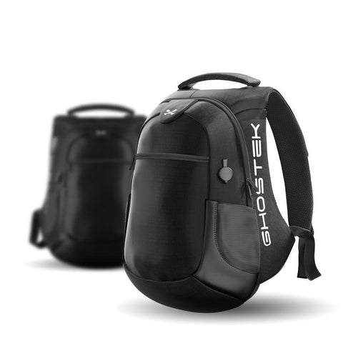 Laptop Backpack with CHARGING STATION, BackPack, GHOSTEK, AdSpell
