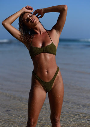 St Tropez Bottoms - Olive
