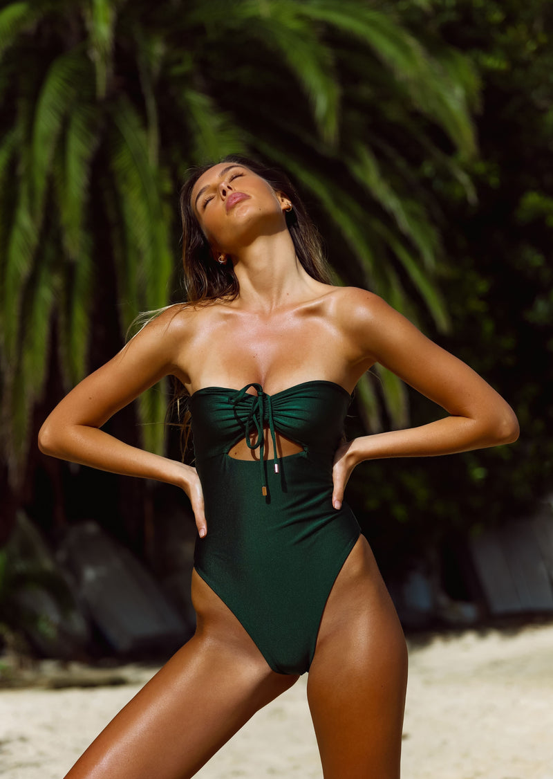 Santorini One Piece - Emerald
