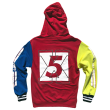 "Load image into Gallery viewer, <img src=""http://brianwoodonline.com/bwvs.png""><br>color block hoody"