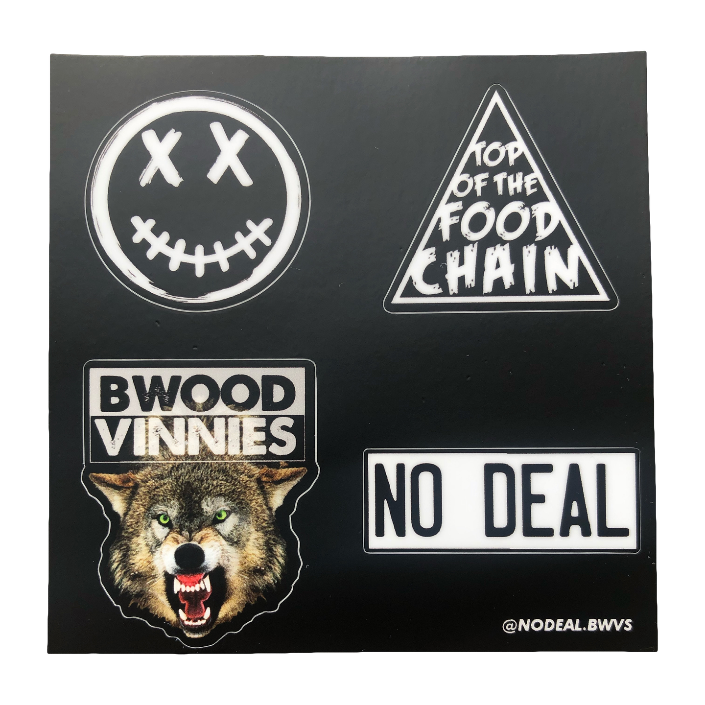 NO DEAL sticker pack