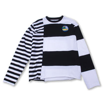 "Load image into Gallery viewer, <img src=""http://brianwoodonline.com/robbery.gif""><br>asymmetrical stripe"