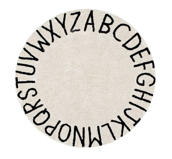 LORENA CANALS │ Round ABC Rug {ore-order}