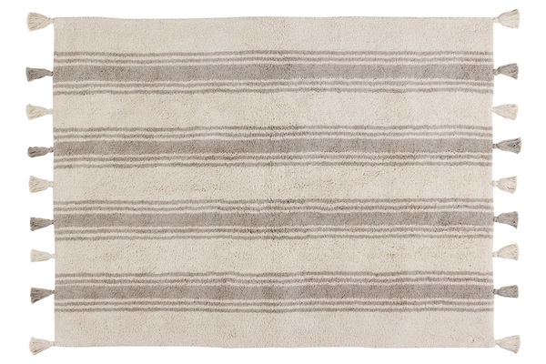 LORENA CANALS │ Stripes Glacier Rug