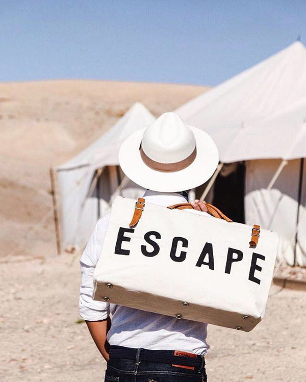 FORESTBOUND CO ❘ Escape Canvas Bag Natural