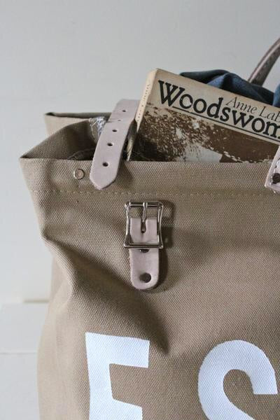 FORESTBOUND CO ❘ Escape Canvas Bag Khaki