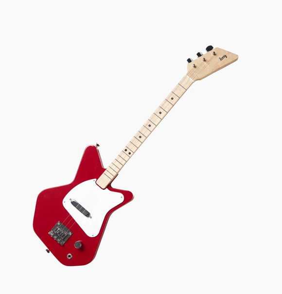 LOOG Pro Electric Guitar - Red