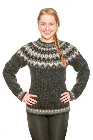Riddari - Icelandic Sweater - Black