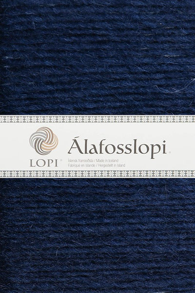 Alafoss Lopi - 0118 Navy, Álafoss Wool Yarn - icelandicstore.is