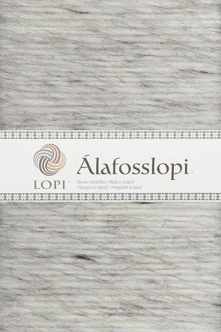 Alafoss Lopi - 0054 Light Ash Heather, Álafoss Wool Yarn - icelandicstore.is