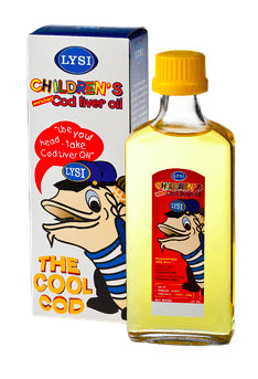 CHILDREN'S COD LIVER OIL - PACK OF 24, Liquid Cod Oil - icelandicstore.is