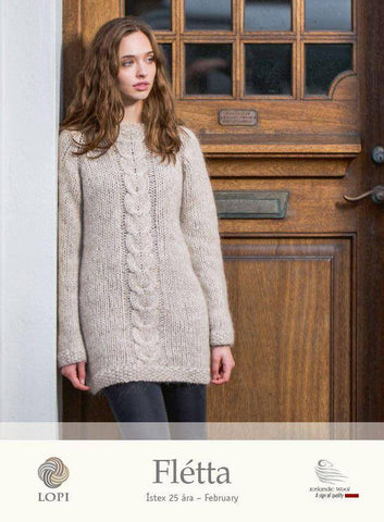 Flétta - Custom made, Women's Custom Sweaters - icelandicstore.is