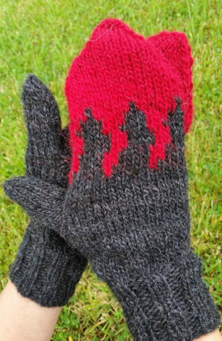 Holuhraun - Free Knitting pattern, Knitting Pattern - icelandicstore.is