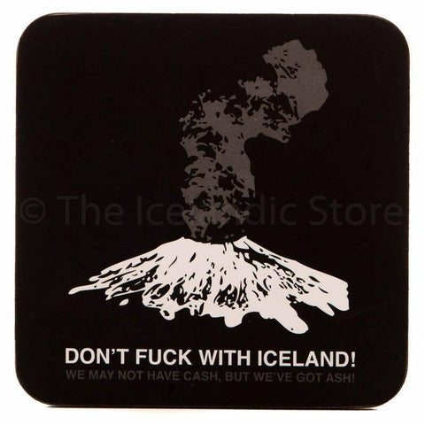 Icelandic Coaster - Don'f fuck with Iceland, Coaster - icelandicstore.is