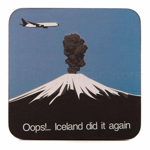 Icelandic Coaster - Oops Iceland did it again, Coaster - icelandicstore.is