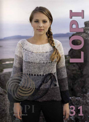 LOPI 31 - Knitting Patterns, Knitting Book - icelandicstore.is