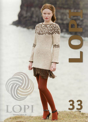LOPI 33 - Knitting Patterns, Knitting Book - icelandicstore.is